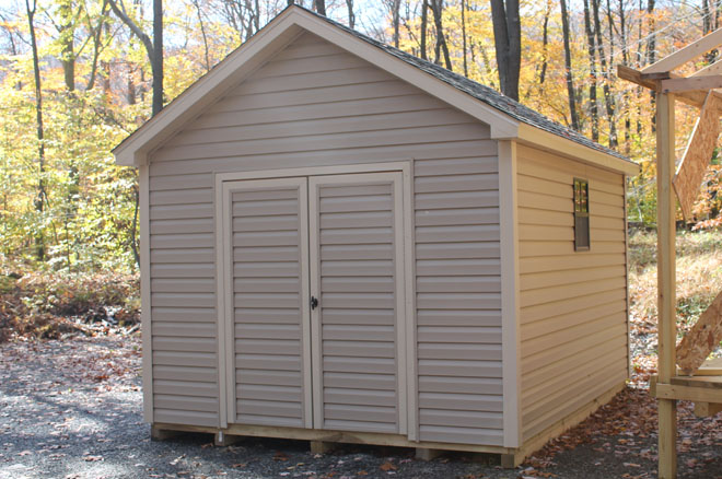 Rustic barns and sheds the image kid for Affordable storage sheds